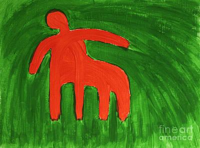 Centaur Painting - Centaur by Igor Kislev