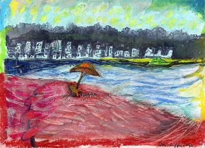 Long Island Drawing - Centerport Beach by Don Schaeffer