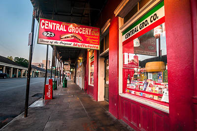 Andy Crawford Photograph - Central Grocery And Deli In New Orleans by Andy Crawford