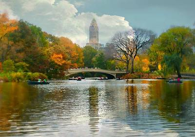 Central Park #6 Print by Diana Angstadt