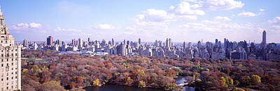City Center Photograph - Central Park, Nyc, New York City, New by Panoramic Images