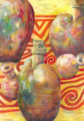 Ceramic Images Print by Joanne Davies