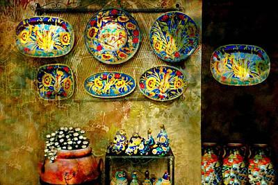 Hand Made Photograph - Ceramica Italiana by Diana Angstadt