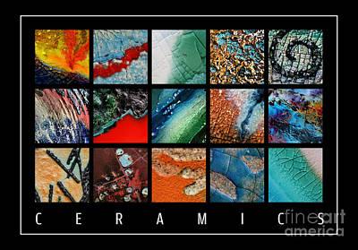 Raku Photograph - Ceramics by Urilla Art