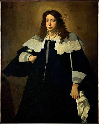 Ceresa Carlo, Lady With Handkerchief Print by Everett