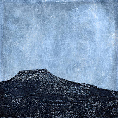Cerro Pedernal Print by Carol Leigh