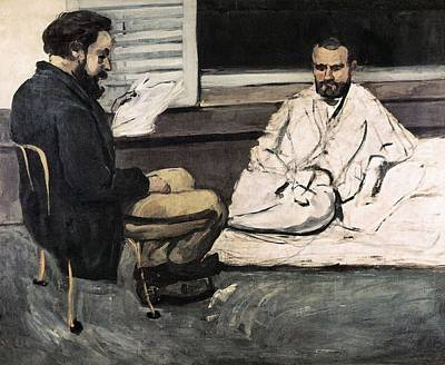 Cezanne, Paul 1839-1906. Paul Alexis Print by Everett