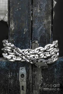Chained Door Print by Svetlana Sewell