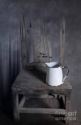 Chair Of Horror Print by Svetlana Sewell