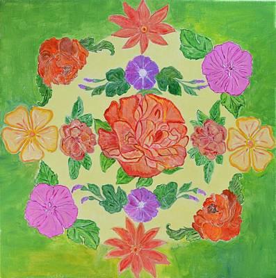 Cuckoo Painting - Chaitra Mandala by Sonali Gangane