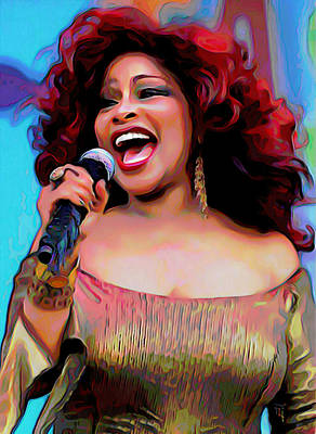 Chaka Khan Original by  Fli Art