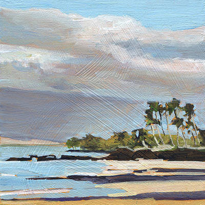 Haleiwa Painting - Charley Young Beach by Stacy Vosberg