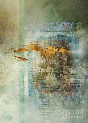 Gradient Digital Art - Chamber by Aimee Stewart