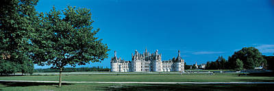 Chateau Photograph - Chambord Castle Loire France by Panoramic Images
