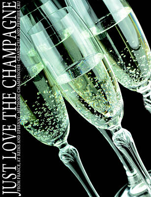 Champagne Glasses  Original by Toppart Sweden