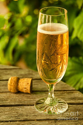 Champagne Photograph - Champagne by Gry Thunes