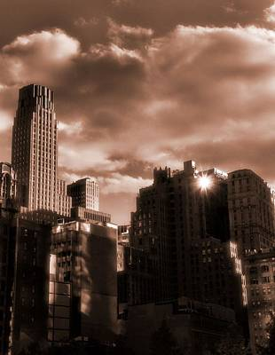 Champagne Photograph - Champagne New York City by Dan Sproul