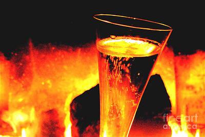 Champagne Wishes Print by Jerome Stumphauzer