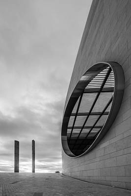 Window Bench Photograph - Champalimaud Centre For The Unknown by Marco Oliveira