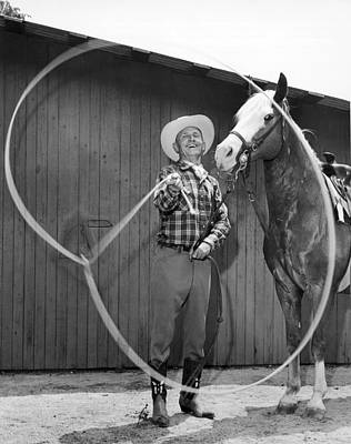 Ability Photograph - Champion Rope Spinner by Underwood Archives
