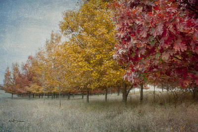 Changing Of The Seasons Print by Jeff Swanson