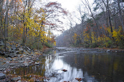 Changing Seasons - Wissahickon Creek Print by Bill Cannon
