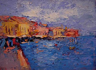 Chania Crete Original by R W Goetting