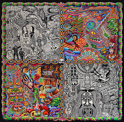 Chaos Culture Jam Print by Chris Dyer