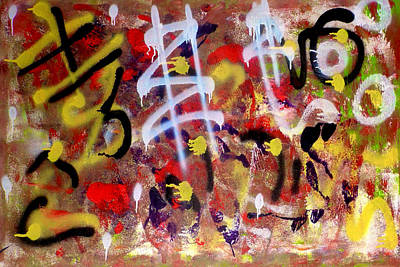 Chaos Theory Print by Paulo Guimaraes