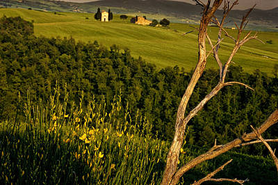Country Scene Photograph - Chapel At Springtime by Andrew Soundarajan