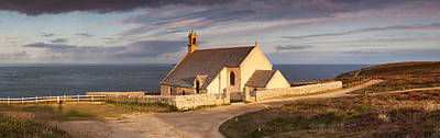 Chapelle Photograph - Chapel At The Coast, Chapelle by Panoramic Images