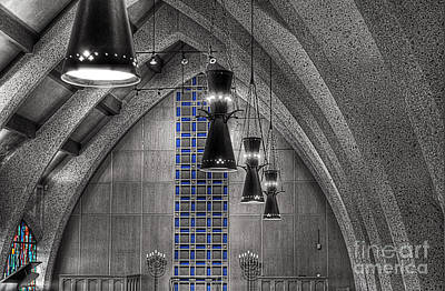 Hdr Photograph - Chapel Limited Color by Hilton Barlow