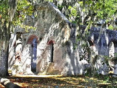 Chapel Of Ease Photograph - Chapel Of Ease Main Ruins by Patricia Greer