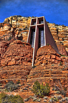 Chapel Of The Holy Cross  Sedona Arizona Print by Jon Berghoff
