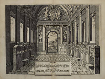 Design With Photograph - Chapel With View Out To Garden Terrace by British Library