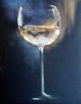 Chardonnay Ode To Teresa Original by Susan Richardson-Kaumans