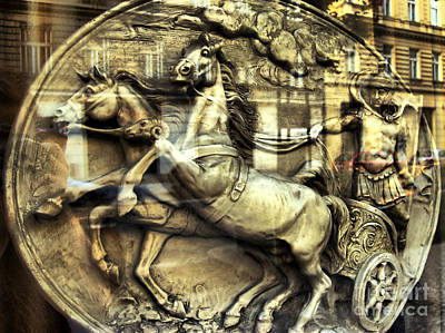 Nature Photograph - Chariot by Justyna JBJart