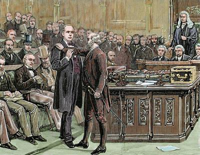 Arrest Photograph - Charles Brandlaugh (1833-1891 by Prisma Archivo