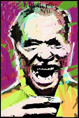 Post It Digital Art - Charles Bukowski. The Wooden Butterfly. by Brett Sixtysix
