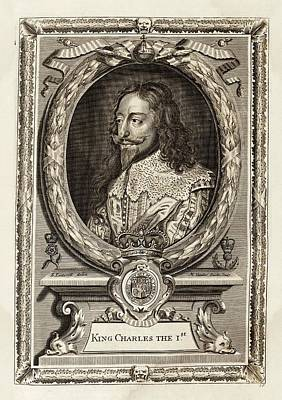 Charles I Print by Middle Temple Library
