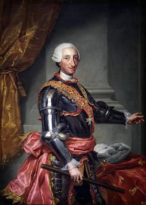 Anton Raphael Mengs Painting - Charles IIi by Anton Raphael Mengs