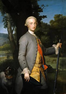 Anton Raphael Mengs Painting - Charles Iv Prince Of Asturias by Anton Raphael Mengs