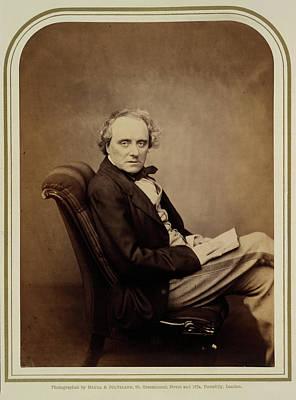 Actor Photograph - Charles John Kean by British Library