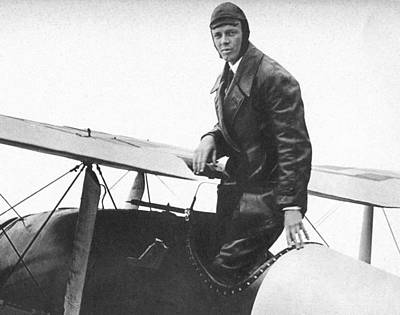 1927 Photograph - Charles Lindbergh by Unknown