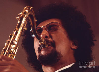 Saxophone Photograph - Charles Lloyd In The Soviet Union by The Phillip Harrington Collection