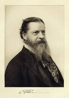 Charles Sanders Peirce Print by Miriam And Ira D. Wallach Division Of Art, Prints And Photographs/new York Public Library
