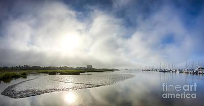 Charleston Fog Print by Dustin K Ryan