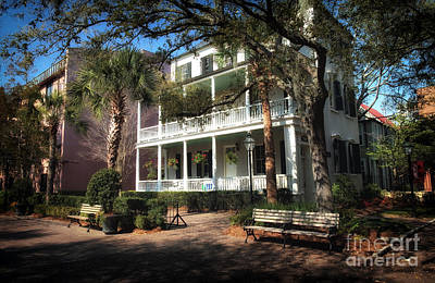 Old Home Place Photograph - Charleston by John Rizzuto