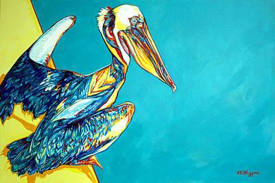 Charleston Pelican Original by Derrick Higgins