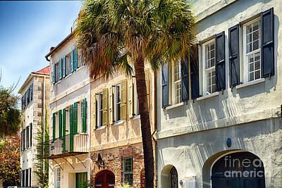 Charleston Street Scenic II Print by George Oze